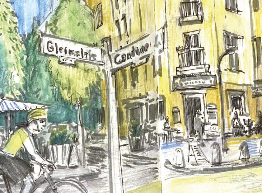 Kiezspaziergang Gleimviertel