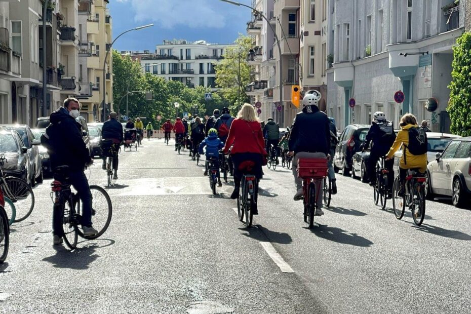 Fahrraddemo Schöneberg