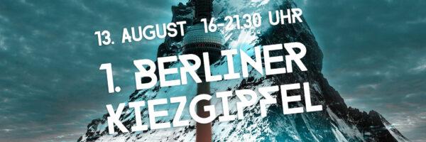 1. Berliner Kiezgipfel
